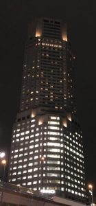 The ANA Intercontinental is one of many high-rise tower hotels in Tokyo. Photo courtesy of Philip Courter.